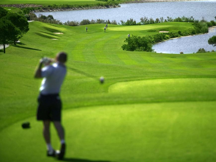 Jugar al Golf en Sancti Petri