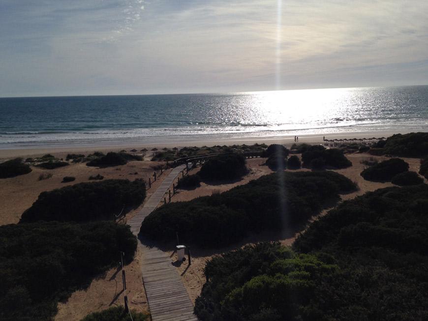 Historia Playa Barrosa